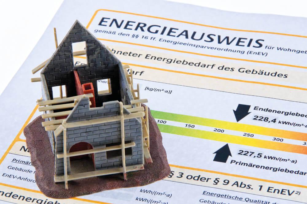 Verkaufsunterlagen: Energieausweis ist Pflicht